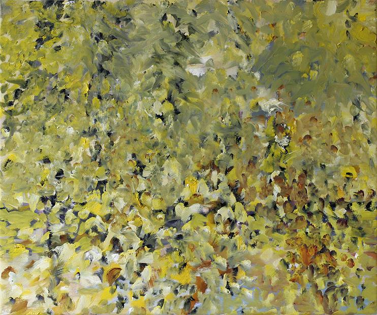 10. Verschiedenes, vorwiegend Gelb II, 50 x 60 cm (19,7 x 23,6 in)